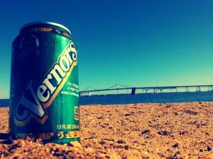 Dr. Pepper Snapple Group Facebook picture  ( Michigan brand + Maryland Beach = Complete Bliss)