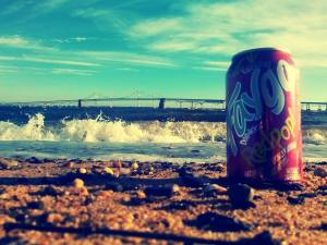 Maryland beach + Michigan brand = my bliss ( 10.24.2013 - Faygo Beverage Inc, Facebook page )