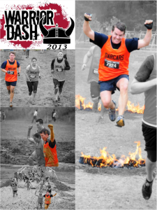Warrior Dash; For Jason Stein, Automotive News