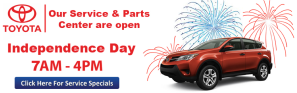 DARCARS Toyota Banner Website Advertisements