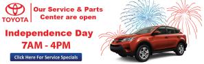 DARCARS Toyota Banner Website Advertisements