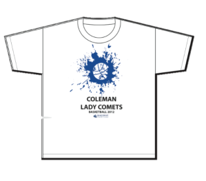 Lady Comets T shirt