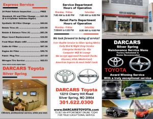 Toyota Brochure